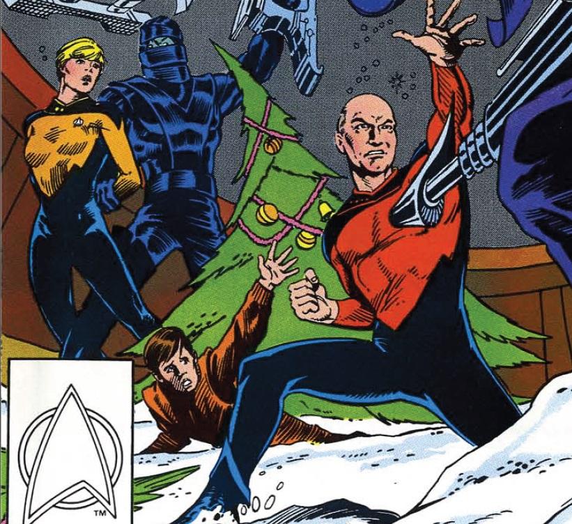 12/23/2012 – Star Trek Christmas   Star Trek Comic Book Review