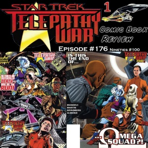 STAR TREK COMIC BOOK REVIEW EPISODE 176